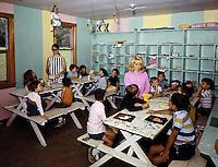 Children in arts & crafts class.