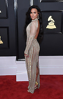 Demi Lovato @ the 59th Annual GRAMMY Awards held @ the Microsoft Theatre.<br /> February 12, 2017 , Los Angeles, USA. # 59EME GRAMMY AWARDS 2017