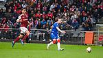 26.02.2020 SC Braga v Rangers: Ryan Kent scores for Rangers