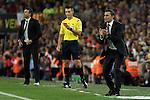 Athletic de Bilbao´s coach Ernesto Valverde during 2014-15 Copa del Rey final match between Barcelona and Athletic de Bilbao at Camp Nou stadium in Barcelona, Spain. May 30, 2015. (ALTERPHOTOS/Victor Blanco)