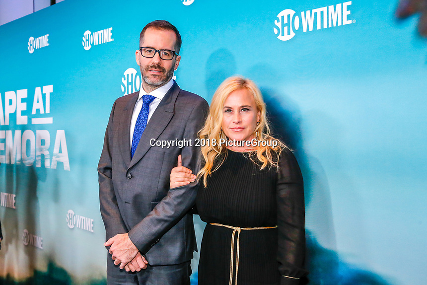 """NEW YORK - NOVEMBER 14: Patricia Arquette and her boyfriend   Eric White attend the premiere of Showtime's limited series """"Escape at Dannemora"""" at Alice Tully Hall in Lincoln Center on November 14, 2018 in New York City. (Photo by Kena Betancur/Showtime/PictureGroup)"""
