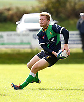 Saturday 10th October 2020 | Ballynahinch vs Queens<br /> <br /> Ryan Wilson during the Energia Community Series clash between Ballynahinch and Queens at Ballymacarn Park, Ballynahinch, County Down, Northern Ireland. Photo by John Dickson / Dicksondigital