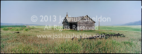 Old abandoned farm home<br />