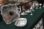 July 05, 2014:Belmont Derby Day.  Trophies. Sue Kawczynski/ESW/CSM