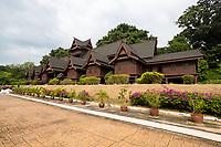 Sultan's Palace, Istana Kesultanan, Melaka, Malaysia.