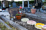 The grave of Baby John at Holy Cross Cemetery in Cahersiveen.  Photo Alan Landers.