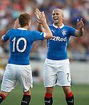 Nicky Clark hails goal provider Lewis Macleod