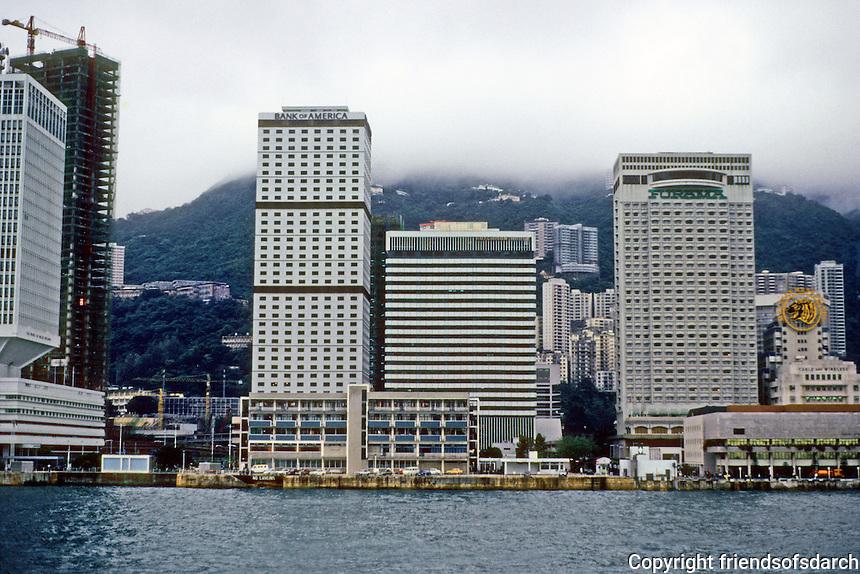 Hong Kong: Downtown Skyline. Photo '82.