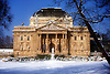 Theatre of Wiesbaden in Winter<br /> <br /> Teatro de Wiesbaden en invierno<br /> <br /> Staatstheater Wiesbaden im Winter<br /> <br /> 1656 x 1102 px<br /> Original: 35 mm slide transparency