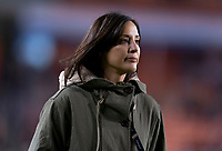 HOUSTON, TX - JANUARY 31: Kate Markgraf of the United States watches the team during a game between Panama and USWNT at BBVA Stadium on January 31, 2020 in Houston, Texas.