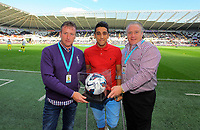 Saturday, 06 October 2012<br /> Pictured: Neil Taylor of Swansea (C)<br /> Re: Barclays Premier League, Swansea City FC v Reading at the Liberty Stadium, south Wales.