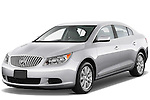 Front three quarter view of a 2012 Buick Lacrosse CX.