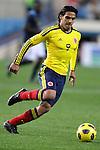 Colombia's national team Falcao Garcia during international friendly. March 26, 2011. (ALTERPHOTOS/Alvaro Hernandez)