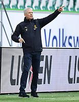 23rd May 2020, Volkswagen Arena, Wolfsburg, Lower Saxony, Germany; Bundesliga football,VfL Wolfsburg versus Borussia Dortmund; Trainer Lucien Favre (Dortmund)