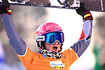FIS Snowboard World Cup - Covid-19 Outbreak  Parallel Slalom Finals event on 17/12/2020 in Carezza, Italy. In action Ramona Theresia Hofmeister (GER)