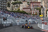 23rd May 2021; Principality of Monaco; F1 Grand Prix of Monaco,   Race Day;  33 VERSTAPPEN Max nld, Red Bull Racing Honda RB16B on his way to winning the race