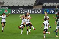 São Paulo (SP), 16/11/2020 - Corinthians-Palmeiras - Diany comemora o gol do Corinthians. Corinthians e Palmeiras jogo válido pelo Campeonato Brasileiro Feminino, segundo jogo da semifinal do Brasileiro Feminino, segunda-feira (16), na Neo Química Arena em São Paulo-SP.