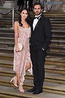 """Lucy Watson and James Dunmore<br /> arriving for the world premiere of """"Our Planet"""" at the Natural History Museum, London<br /> <br /> ©Ash Knotek  D3491  04/04/2019"""