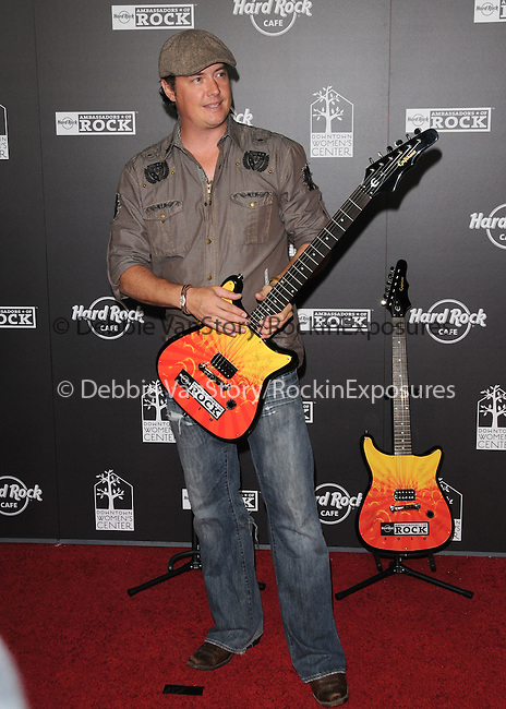 Jeremy London at The Hard Rock Cafe Hollywood's grand opening party in Hollywood, California on October 21,2010                                                                               © 2010 Hollywood Press Agency
