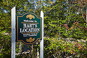 Harts Location - Smallest town in New Hamphire USA