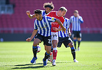 27th September 2020; Ashton Gate Stadium, Bristol, England; English Football League Championship Football, Bristol City versus Sheffield Wednesday; Massimo Luongo of Sheffield Wednesday competes for the ball with Andreas Weimann of Bristol City