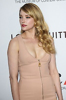 LOS ANGELES, CA, USA - MARCH 29: Haley Bennett at the MOCA's 35th Anniversary Gala Presented By Louis Vuitton held at The Geffen Contemporary at MOCA on March 29, 2014 in Los Angeles, California, United States. (Photo by Celebrity Monitor)