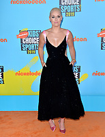 SANTA MONICA, USA. July 11, 2019: Lindsey Vonn at Nickelodeon's Kids' Choice Sports Awards 2019 at Barker Hangar.<br /> Picture: Paul Smith/Featureflash
