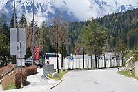 abgesperrtes Trainingsgelände - Seefeld 25.05.2021: Trainingslager der Deutschen Nationalmannschaft zur EM-Vorbereitung