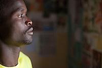 Kenyan athlete Abel Kirui, two time world champion marathon runner.