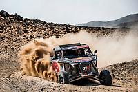 6th January 2021; Wadi Al Dawasir to Riyadh, Saudia Arabia; Dakar 2021 Rally, stage 4;  383 Quintero Seth (usa), Zenz Dennis (deu), OT3, Red Bull Off-Road Team USA, Light Weight Vehicles Prototype - T3, action during the 4th stage of the Dakar 2021 between Wadi Al Dawasir and Riyadh, in Saudi Arabia on January 6, 2021