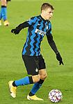 Football Club Internazionale Milano's Nicolo Barella during UEFA Champions League match. November 3,2020.(ALTERPHOTOS/Acero)