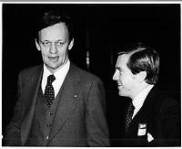 Jean Chretien, le 6 decembre 1978<br /> <br /> PHOTO : JJ Raudsepp  - Agence Quebec presse
