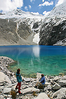 Aventure au Perou : Cordillere Blanche, Mancos (2650 m), Lac 69 (4700 m), Huaraz, Altiplano; Arequipa, Colca (4900 m)...