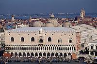 Dogenpalast, Venedig,  Venetien, Italien, Unesco-Weltkulturerbe