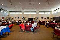Brian Redman speaks at the Road & Track luncheon. 22-25 January, 2009, Daytona Beach, Florida USA..©F.Peirce Williams 2009.F.Peirce Williams.photography
