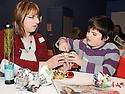 14/12/2010   Copyright  Pic : Lisa Ferguson / JSP.005_christmas_seminar_2010  .::  FALKIRK COUNCIL ::  LITTER STRATEGY :: CHRISTMAS SEMINAR 2010 :: CHRISTMAS DECORATIONS ARE MADE FROM LITTER ::.