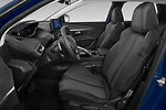 Front seat view of 2021 Peugeot 3008 Allure 5 Door SUV Front Seat  car photos