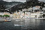 The town of Cetara, Amalfi Coast, Italy