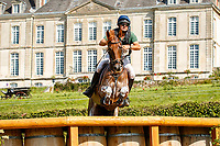 ESP-Eduardo Via-Dufresne rides Maribera Pomes 15.6 during the Cross Country for the CCIO4*-S. FRA-Le Grand Complet - Haras du Pin FEI Nations Cup Eventing. Le Pin au Haras. Normandie. France. Sunday 15 August 2021. Copyright Photo: Libby Law Photography