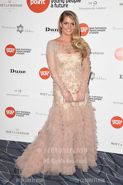 Lady Kitty Spencer arrives for The Downton Abbey Ball 2015 in aid of Centrepoint charity at the Savoy Hotel, London. 30/04/2015 Picture by: Steve Vas / Featureflash
