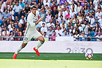 Real Madrid's player Alvaro Morata during a match of La Liga Santander at Santiago Bernabeu Stadium in Madrid. September 10, Spain. 2016. (ALTERPHOTOS/BorjaB.Hojas)