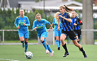Brugge's Marie Minnaert pictured during a female soccer game between the women teams of Club Brugge YLA Dames and Union Saint-Ghislain Tertre-Hautrage Ladies on the 1/16 th qualifying round for the Belgian Womens Cup 2020  2021 , on saturday 26 th of September 2020  in Brugge , Belgium . PHOTO SPORTPIX.BE | SPP | DAVID CATRY