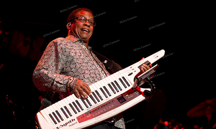 Herbie Hancock plays the Queen Elizabeth Theatre, June 30, 2013 in the TD Vancouver International Jazz Festival