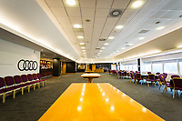 Saturday April 14 2018 <br /> Pictured: Swansea City Hospitality Suites<br /> Re: Premier League match between Swansea City and Everton at The Liberty Stadium on April 14, 2018 in Swansea, Wales, UK.