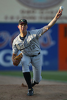 May 20, 2003: Jeff Francis of the Visalia Oaks in action at Arrowhead Credit Union Park in San Bernardino,CA.  Photo by Larry Goren/Four Seam Images