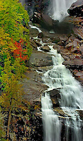 The Whitewater waterfall in the North Carolina mountains.