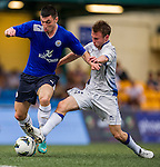 Leicester City plays HKFC Captain's Select during the HKFC Citibank International Soccer Sevens at the Hong Kong Football Club on 25 May 2013 in Hong Kong, China. Photo by Victor Fraile / The Power of Sport Images