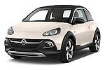 2015 Opel Adam Rocks 3 Door Hatchback angular front stock photos of front three quarter view