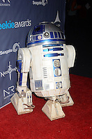 R2D2<br /> The first annual Geekie Awards at The Avalon Hollywood in Hollywood, CA., USA.  <br /> August 18th, 2013<br /> full length costume robot star wars <br /> CAP/ADM/BT<br /> ©Birdie Thompson/AdMedia/Capital Pictures