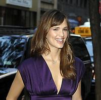 NEW YORK - SEPTEMBER 26, 2007: Actor Jennifer Garner  visits the Today Show in Rockefeller Center in New York City.<br /> <br /> People:  Jennifer Garner